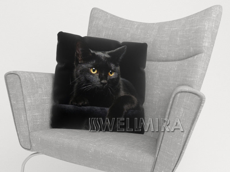Pillowcase Black Cat - Wellmira
