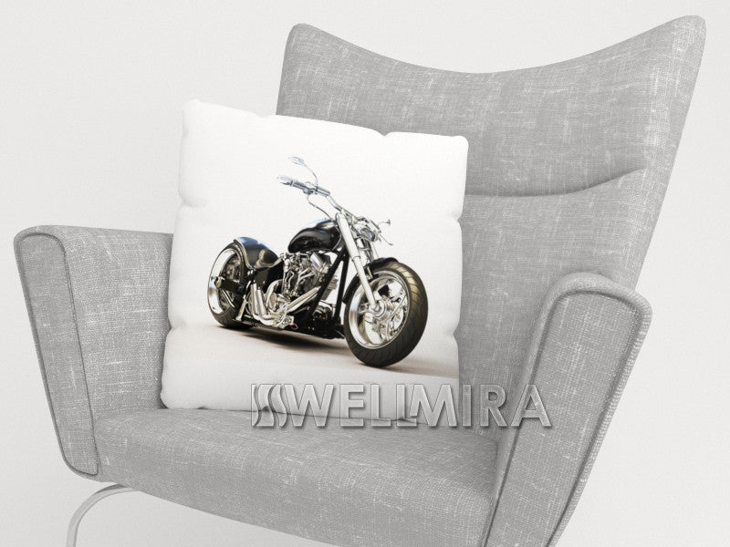 Pillowcase Black Motorbike - Wellmira