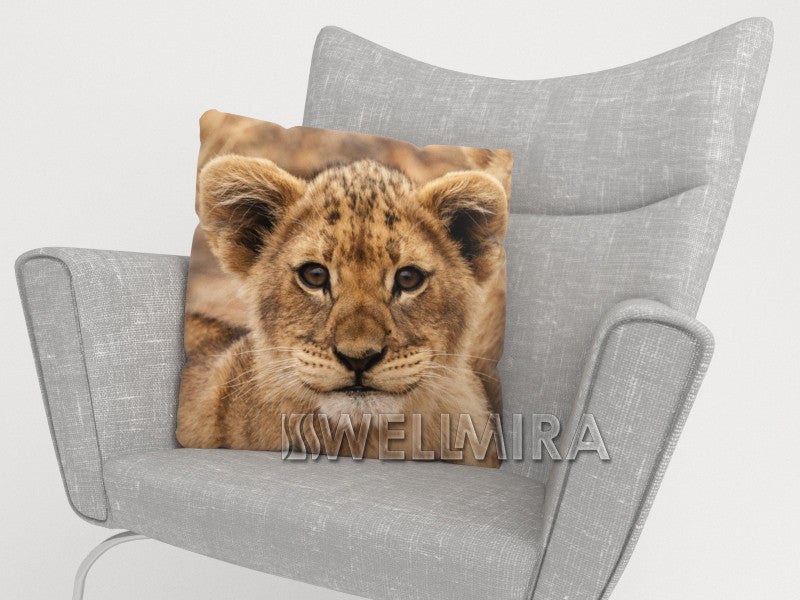 Pillowcase Cute lion - Wellmira