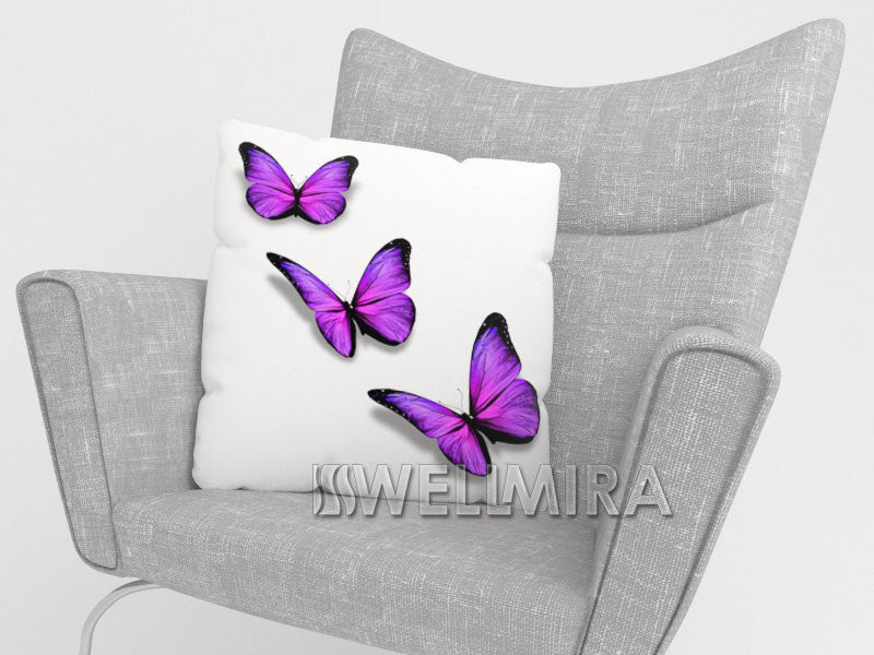 Pillowcase Purple Batterfly - Wellmira