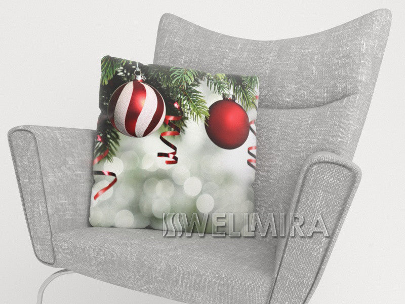 Pillowcase Red Christmas Toys 2 - Wellmira