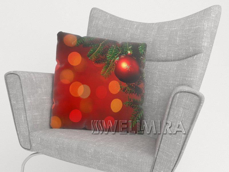 Pillowcase Red Christmas Toys - Wellmira