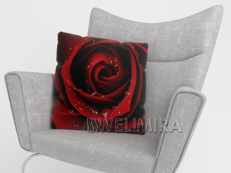 Pillowcase Red Rose - Wellmira