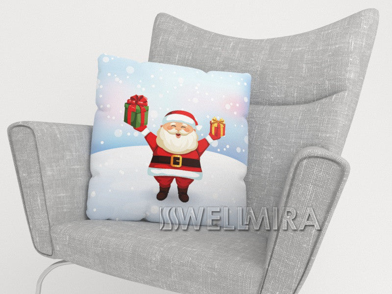 Pillowcase Santa with Gifts - Wellmira