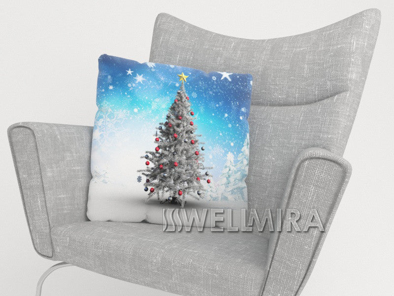 Pillowcase White Christmas Tree - Wellmira