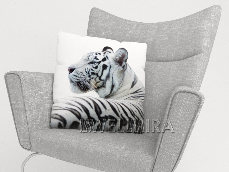 Pillowcase White Tiger - Wellmira