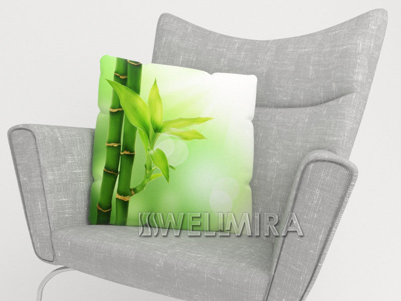 Pillowcase Green Bamboo - Wellmira