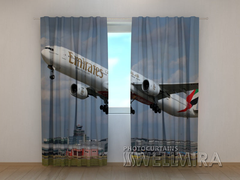 3D Curtain Plane - Wellmira