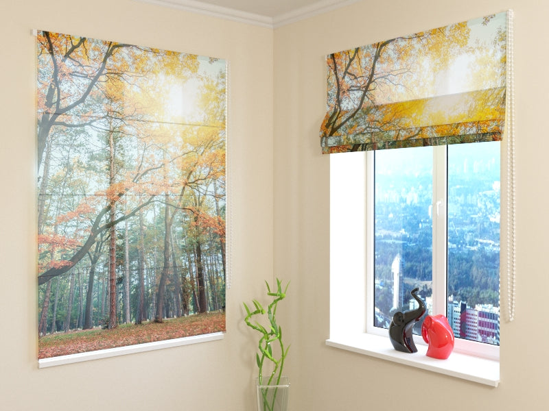 Roman Blind Sun in the Forest