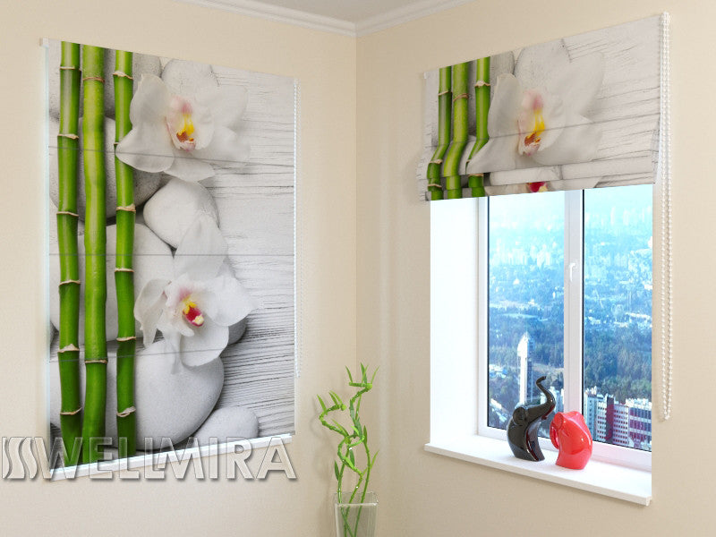 Roman Blind Beautiful composition - Wellmira