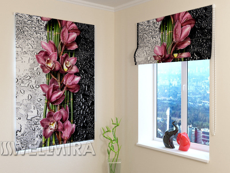 Roman Blind Drop of Beauty - Wellmira