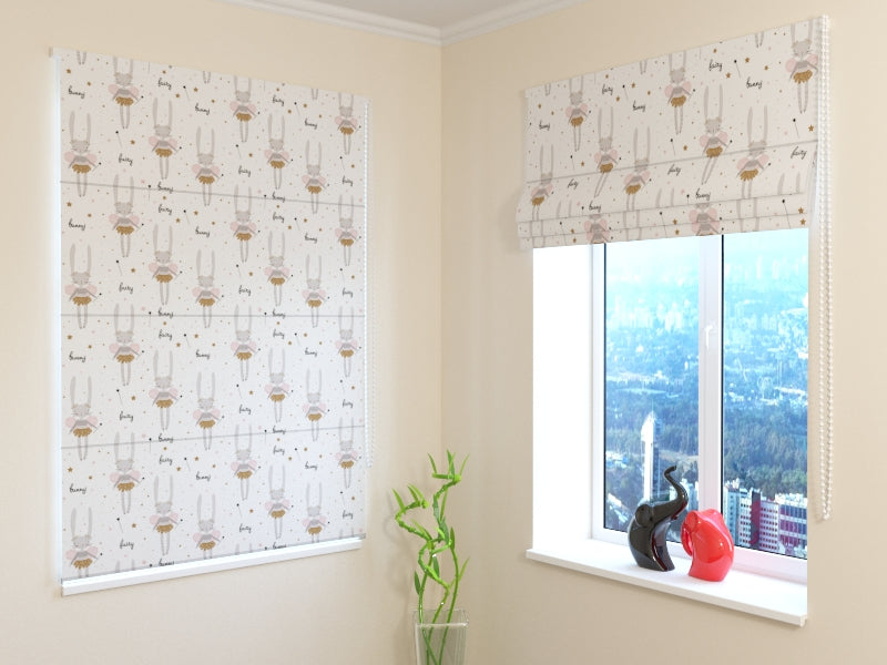 Roman Blind Fairy Banny - Wellmira
