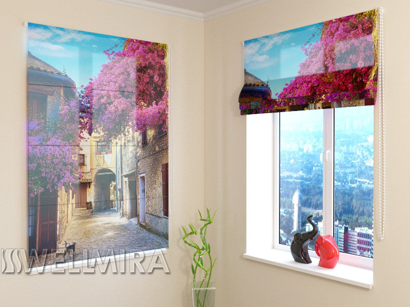 Roman Blind Italian Patio - Wellmira