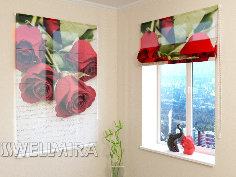 Roman Blind Letter for Sweetheart - Wellmira
