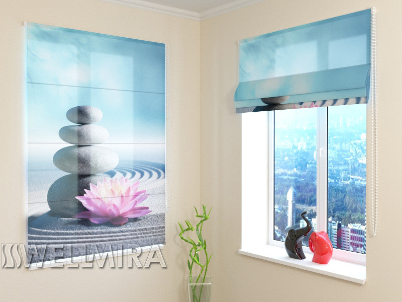 Roman Blind Lily on the Sand - Wellmira