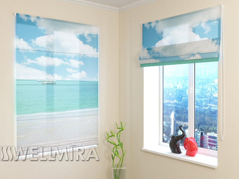 Roman Blind Near the sea - Wellmira