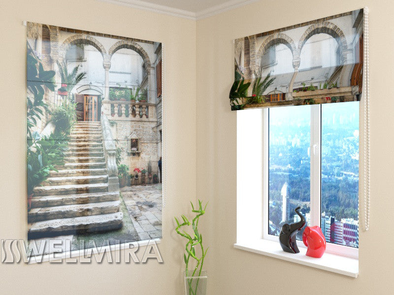 Roman Blind Porch - Wellmira