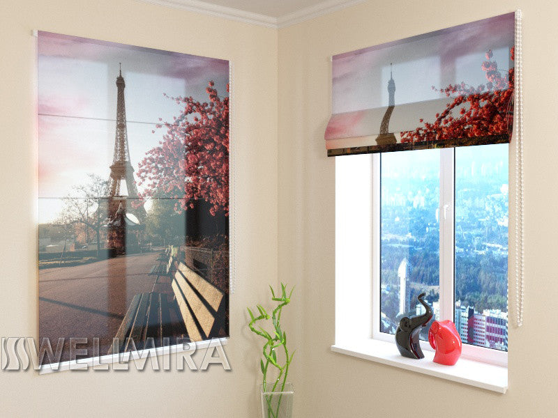 Roman Blind Spring in Paris 2 - Wellmira