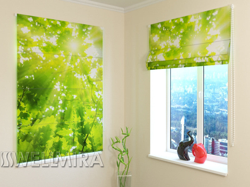 Roman Blind Leaves 2 - Wellmira