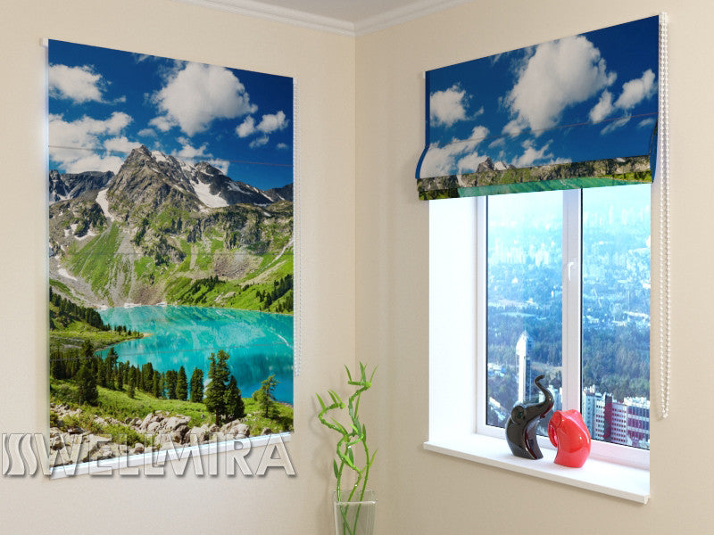Roman Blind Moraine Lake 2 - Wellmira