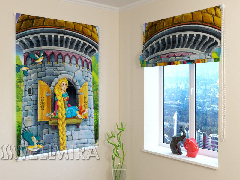 Roman Blind Princess in the tower - Wellmira