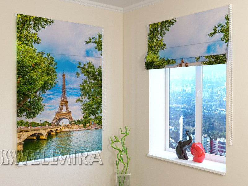 Roman Blind Spring in Paris - Wellmira