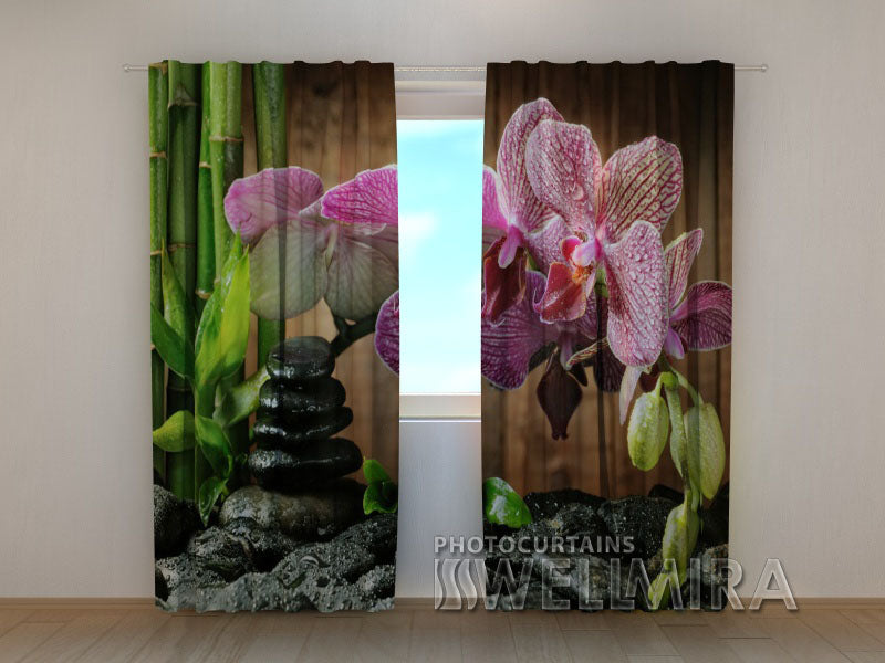 Photocurtain Sparkling Orchid - Wellmira