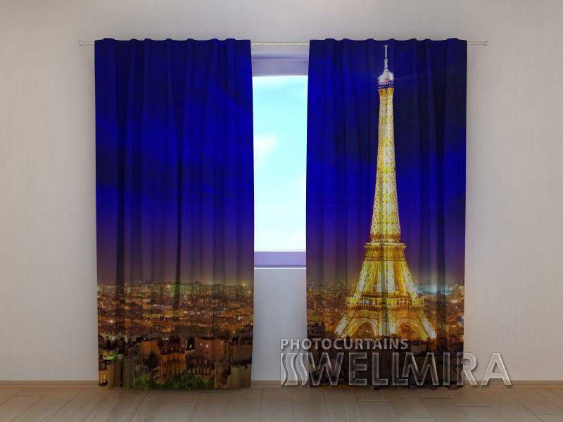 Photo Curtain Splendour of Paris - Wellmira