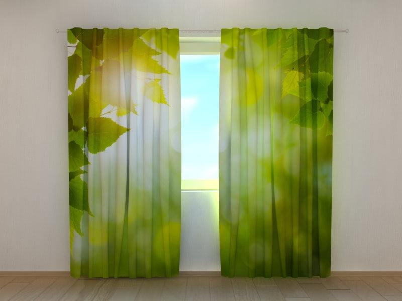 Photo Curtain Summer Sun - Wellmira