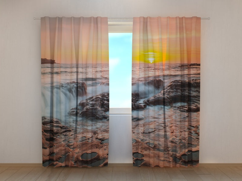 Photo Curtain Summer Sunrise in Australia