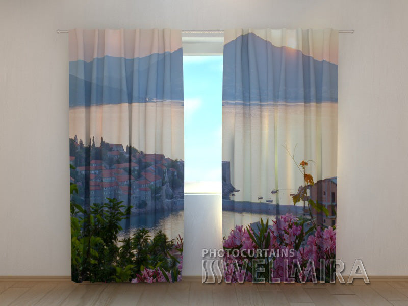 Photo Curtain Sunrise - Wellmira