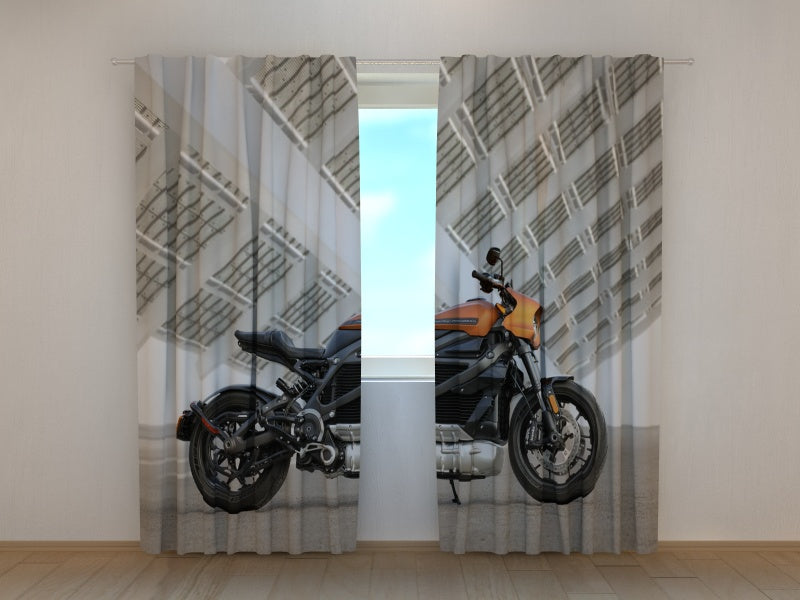 Photo Curtain Superbike Harley Davidson