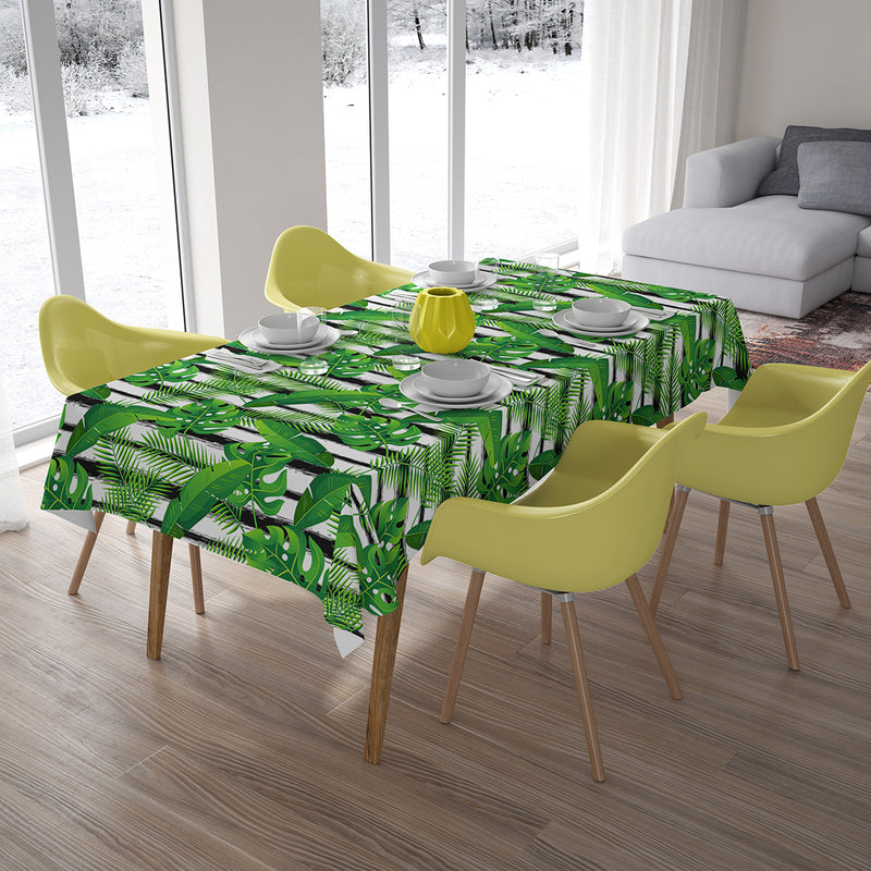 Tablecloth Exotic Tropical Plants - Wellmira