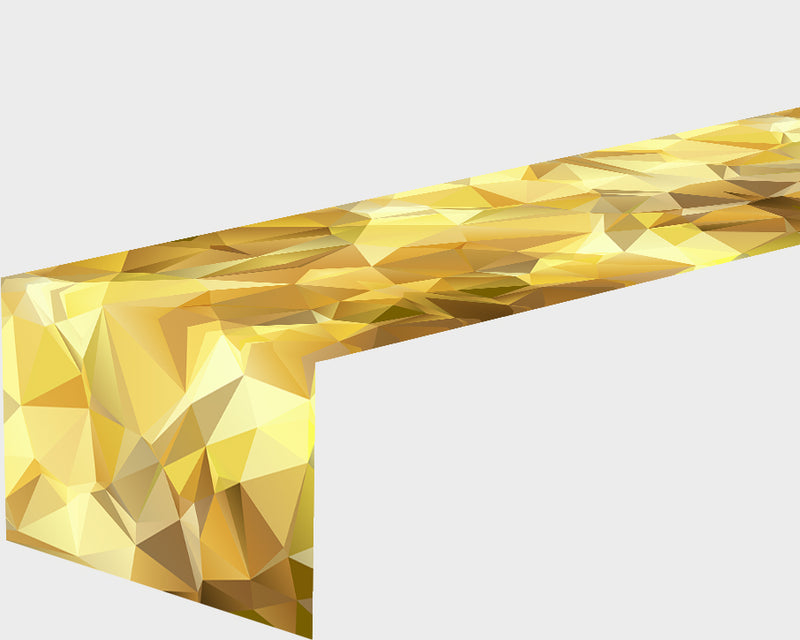Table Runner Golden Abstraction - Wellmira