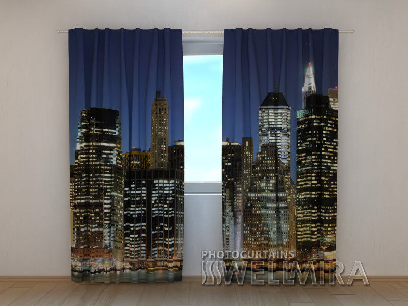 Photo Curtain The City is Up - Wellmira