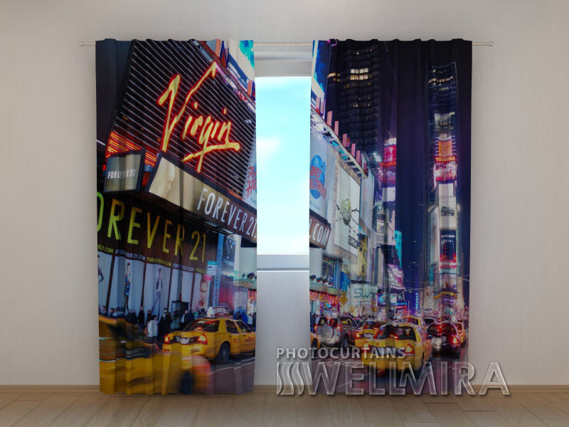 Photo Curtain Times Square - Wellmira