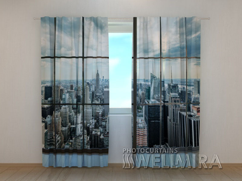 Photo Curtain View of New York - Wellmira