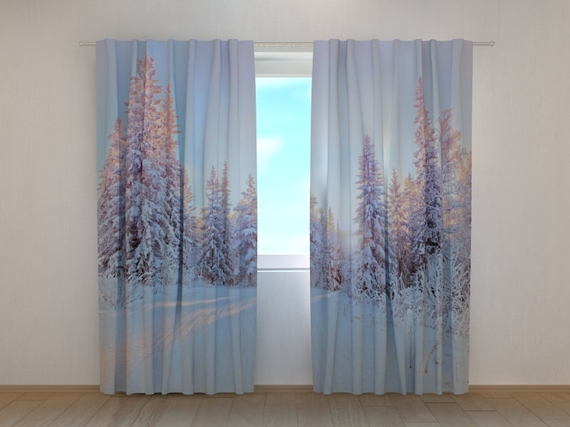 Photo Curtain Winter Tale - Wellmira