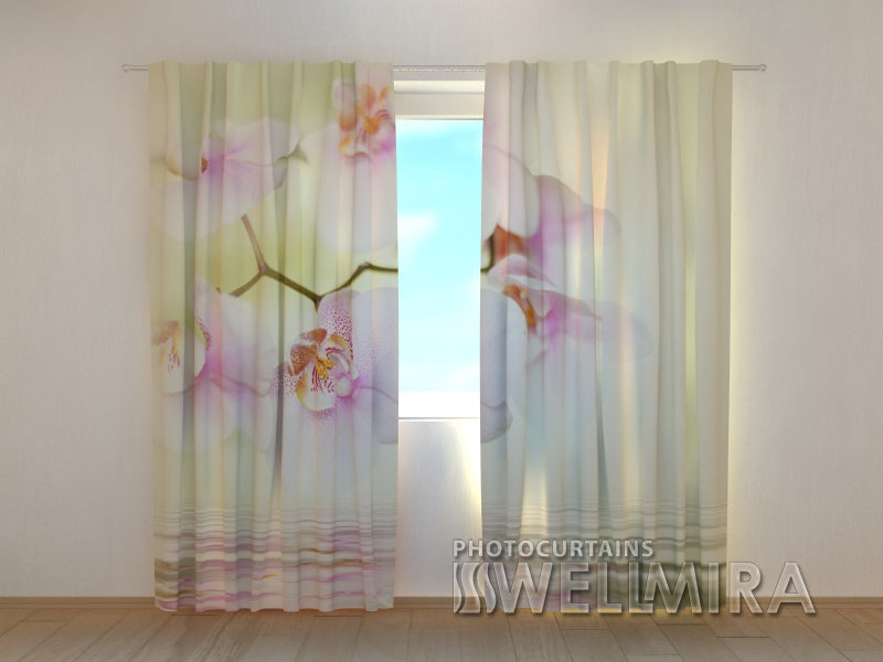 Photocurtain White Orchid 2 - Wellmira