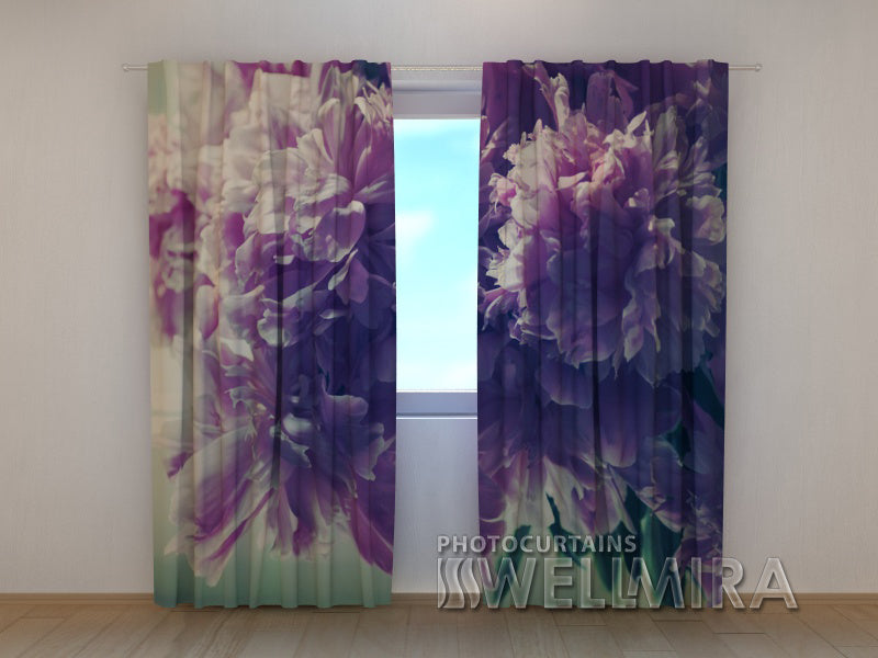 Photocurtain Bunch of Peonies - Wellmira
