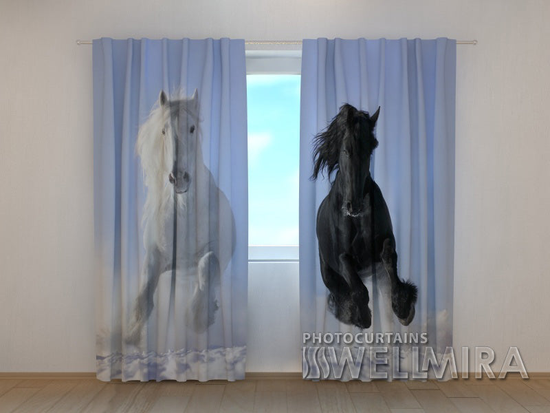 3D Curtain Horse 1 - Wellmira
