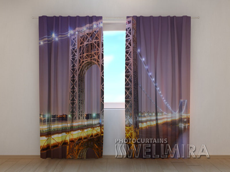 Photo Curtain G. Washington Bridge - Wellmira