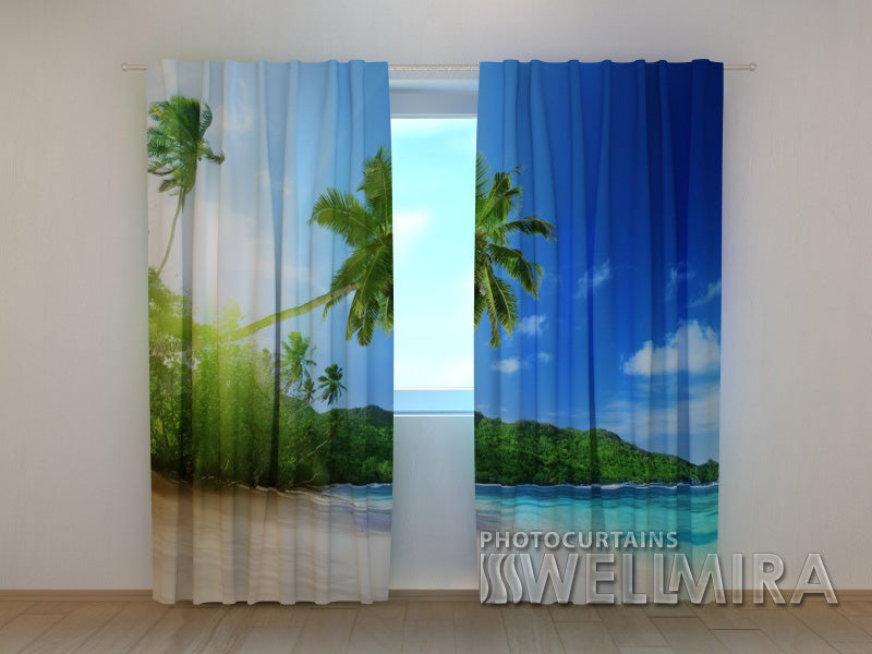 Photo Curtain Ocean - Wellmira