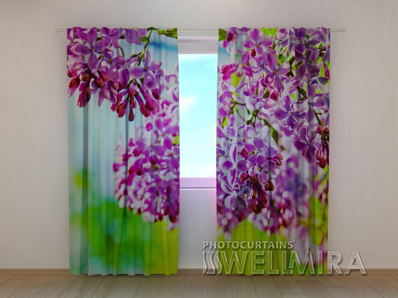 3D Curtain Lilac May - Wellmira
