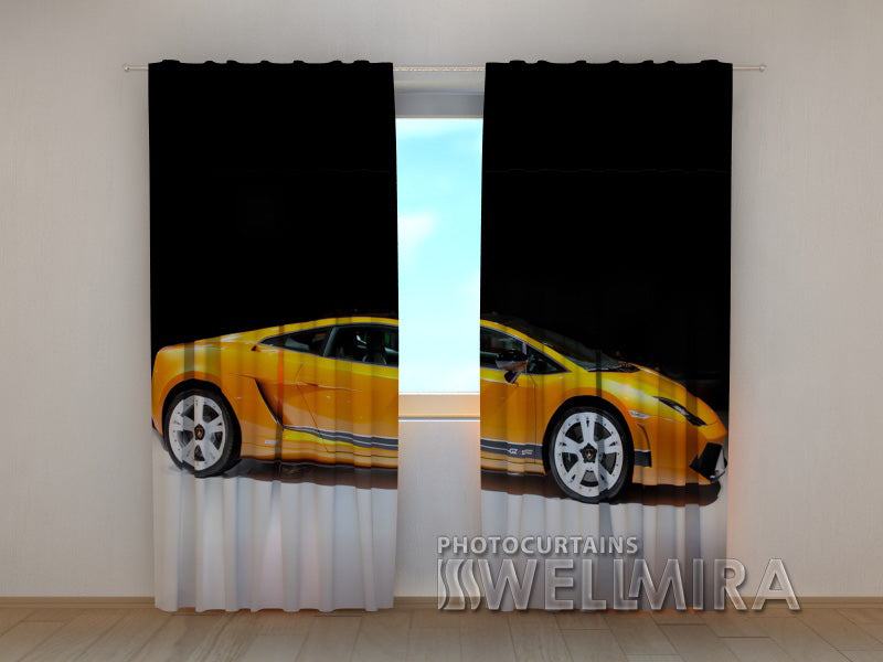 3D Curtain Supercar - Wellmira