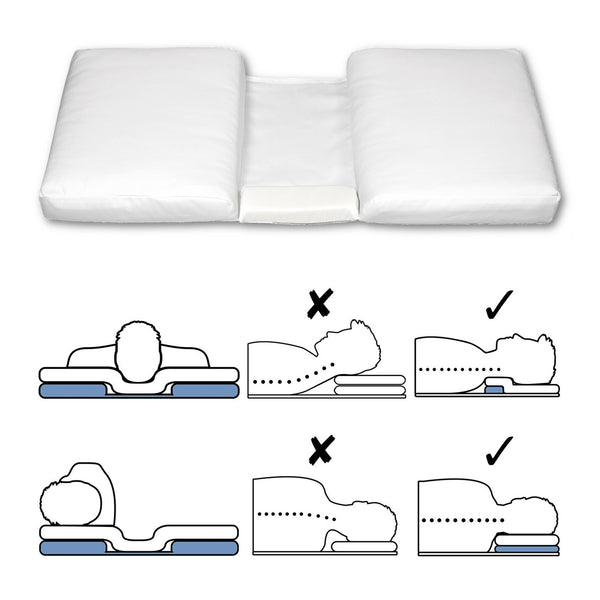 Ergonomic Pillow Booster advanced neck pillow solution