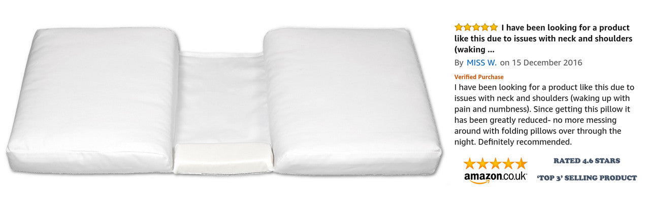 Ergonomic Pillow Booster For Better Sleep and Comfort Amazon Review