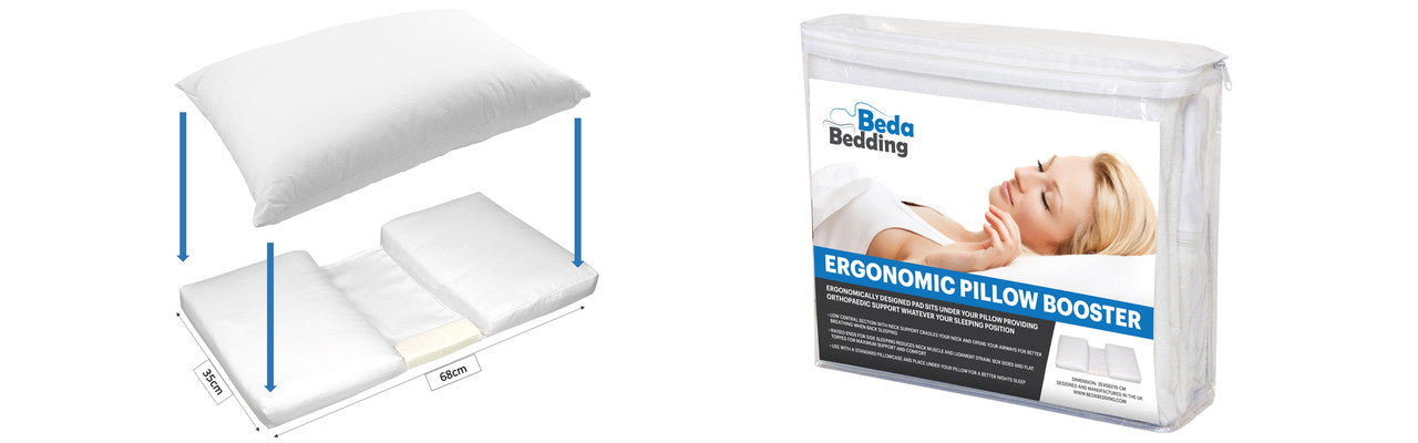 Ergonomic Pillow Booster For Better Sleep and Comfort How to Use