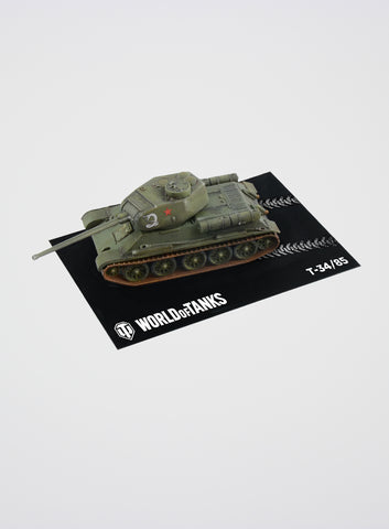 World of Tanks  T34/85 Fast Assembly Model Kit (1:72)
