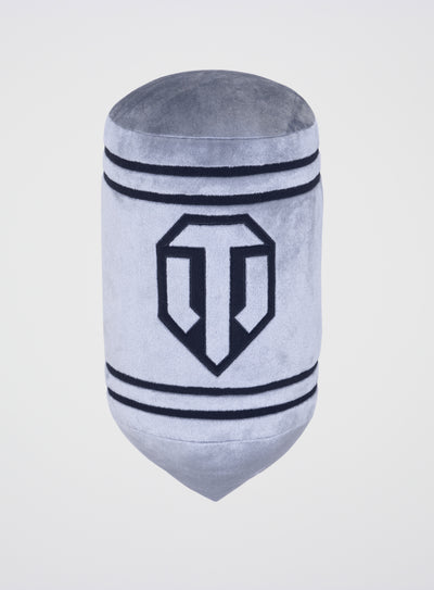 World of Tanks Plush Grey Tank Shell